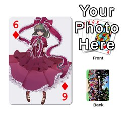 Touhou Playing Cards By Keifer   Playing Cards 54 Designs   7dgrygn28gyi   Www Artscow Com Front - Diamond6