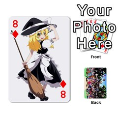 Touhou Playing Cards By Keifer   Playing Cards 54 Designs   7dgrygn28gyi   Www Artscow Com Front - Diamond8