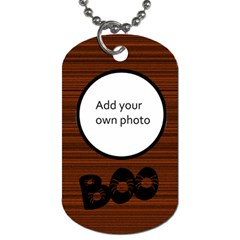 Halloween Dog Tags   2 Sided By Jen   Dog Tag (two Sides)   Qafje789vd0a   Www Artscow Com Front