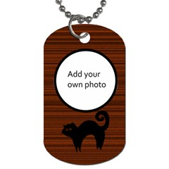Halloween Dog Tags   2 Sided By Jen   Dog Tag (two Sides)   Qafje789vd0a   Www Artscow Com Back