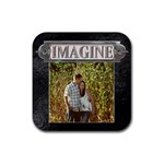 Imagine Coaster - Rubber Coaster (Square)