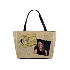 Inspiration Shoulder Handbag #1 By Lil    Classic Shoulder Handbag   Pcvu7z3bb3lf   Www Artscow Com Front