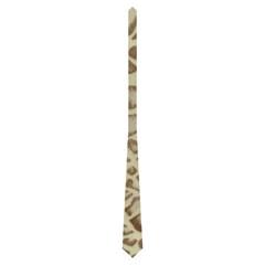 Art Nouveau Beige Camo Double Sided Tie By Catvinnat   Necktie (two Side)   Urntc9bbmir1   Www Artscow Com Back