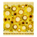 Sunflower Shower Curtain - Shower Curtain 66  x 72  (Large)