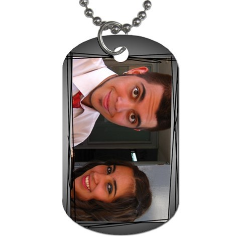 Ni?os By Lydia   Dog Tag (one Side)   Zeoadh5aa3aa   Www Artscow Com Front