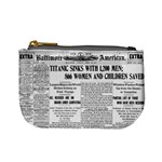Newspaper coin purse - Mini Coin Purse