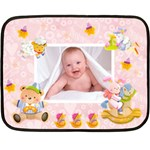 Blankie Bunny Baby Girl Mini Fleece - Fleece Blanket (Mini)