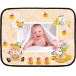 Blankie Bunny Peach Melba Baby Mini Fleece - Fleece Blanket (Mini)
