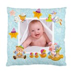 Blankie Bunny Baby Boy Double sided cushion - Standard Cushion Case (Two Sides)