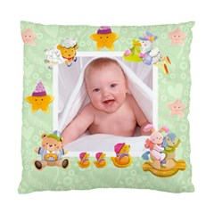 Blankie Bunny Pistachio  Baby Double Sided Cushion By Catvinnat   Standard Cushion Case (two Sides)   3xbea34zf6c9   Www Artscow Com Back