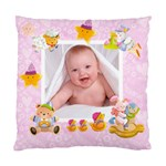 Blankie Bunny Lavendar love Baby Double sided cushion - Standard Cushion Case (Two Sides)