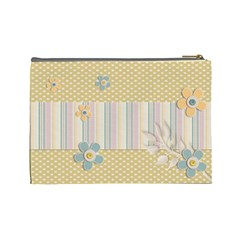 Cosmetic Bag (large)    Flowers4 By Jennyl   Cosmetic Bag (large)   Cju2bza1l4gj   Www Artscow Com Back