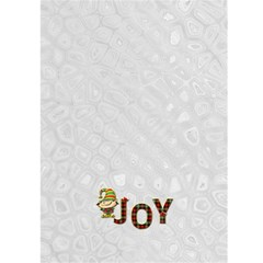 Tis The Season Christmas Card By Lil    Greeting Card 5  X 7    V46luer6p24o   Www Artscow Com Back Cover