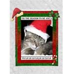 Tis The Season Christmas Card - Greeting Card 5  x 7