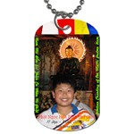 Jade Buddha - Philip - Dog Tag (Two Sides)