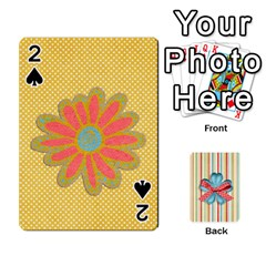 Frolicandplay Cards By Sheena   Playing Cards 54 Designs   902c7x9ntq3u   Www Artscow Com Front - Spade2