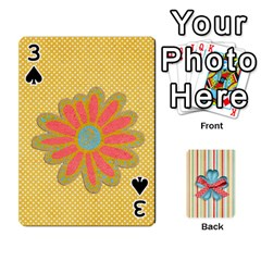 Frolicandplay Cards By Sheena   Playing Cards 54 Designs   902c7x9ntq3u   Www Artscow Com Front - Spade3