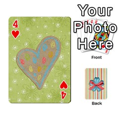 Frolicandplay Cards By Sheena   Playing Cards 54 Designs   902c7x9ntq3u   Www Artscow Com Front - Heart4