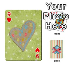 Frolicandplay Cards By Sheena   Playing Cards 54 Designs   902c7x9ntq3u   Www Artscow Com Front - Heart9