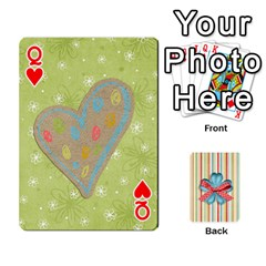 Queen Frolicandplay Cards By Sheena   Playing Cards 54 Designs   902c7x9ntq3u   Www Artscow Com Front - HeartQ
