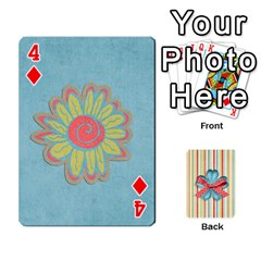 Frolicandplay Cards By Sheena   Playing Cards 54 Designs   902c7x9ntq3u   Www Artscow Com Front - Diamond4
