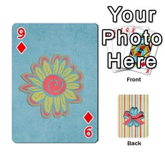 Frolicandplay Cards By Sheena   Playing Cards 54 Designs   902c7x9ntq3u   Www Artscow Com Front - Diamond9