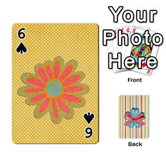 Frolicandplay Cards By Sheena   Playing Cards 54 Designs   902c7x9ntq3u   Www Artscow Com Front - Spade6