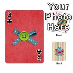 Frolicandplay Cards By Sheena   Playing Cards 54 Designs   902c7x9ntq3u   Www Artscow Com Front - Club3