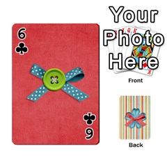 Frolicandplay Cards By Sheena   Playing Cards 54 Designs   902c7x9ntq3u   Www Artscow Com Front - Club6