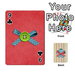 Frolicandplay Cards By Sheena   Playing Cards 54 Designs   902c7x9ntq3u   Www Artscow Com Front - Club9