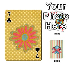 Frolicandplay Cards By Sheena   Playing Cards 54 Designs   902c7x9ntq3u   Www Artscow Com Front - Spade7