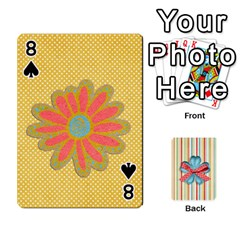 Frolicandplay Cards By Sheena   Playing Cards 54 Designs   902c7x9ntq3u   Www Artscow Com Front - Spade8