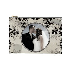 Wedding Memories Large Cosmetic Bag By Lil    Cosmetic Bag (large)   56dycw9zmtvh   Www Artscow Com Front