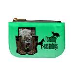 Cats and dogs - Mino coin purse - Mini Coin Purse