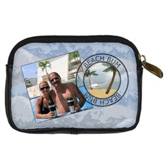 Catchin  Some Waves Camera Case By Lil    Digital Camera Leather Case   T2g7g6lw1jkd   Www Artscow Com Back