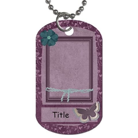Colors Of March Dog Tag By Bitsoscrap   Dog Tag (one Side)   Vwyqbl53g01a   Www Artscow Com Front
