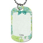 Summer Breeze Petals Dog Tag - Dog Tag (One Side)