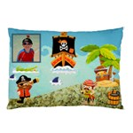 pirate pete  I see no ships pillow case