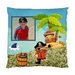 Pirate Pete I see no ships cushion - Standard Cushion Case (Two Sides)