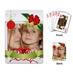 xmas card - Playing Cards Single Design