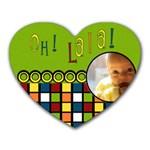 oh la la! - Memopad - Heart Mousepad