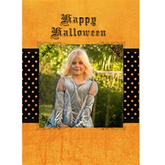 Halloween Card By April Williams   Greeting Card 5  X 7    Gqs1081wtjwu   Www Artscow Com Front Cover