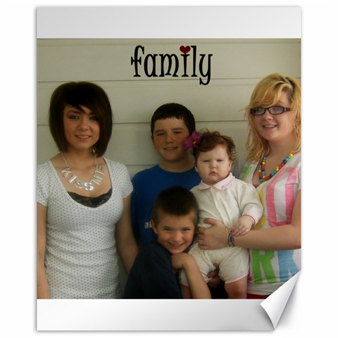 16x20 Family By Amanda Bunn   Canvas 16  X 20    S412cr6236m6   Www Artscow Com 20 x16 Canvas - 1