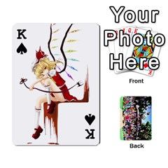 King Touhou Cards(updated) By Keifer   Playing Cards 54 Designs   Oeutec6k3acp   Www Artscow Com Front - SpadeK