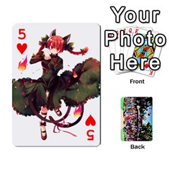 Touhou Cards(updated) By Keifer   Playing Cards 54 Designs   Oeutec6k3acp   Www Artscow Com Front - Heart5