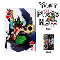 Touhou Cards(updated) By Keifer   Playing Cards 54 Designs   Oeutec6k3acp   Www Artscow Com Front - Heart6