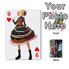 Touhou Cards(updated) By Keifer   Playing Cards 54 Designs   Oeutec6k3acp   Www Artscow Com Front - Heart9