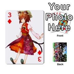 Touhou Cards(updated) By Keifer   Playing Cards 54 Designs   Oeutec6k3acp   Www Artscow Com Front - Diamond3