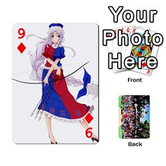 Touhou Cards(updated) By Keifer   Playing Cards 54 Designs   Oeutec6k3acp   Www Artscow Com Front - Diamond9