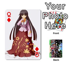 Queen Touhou Cards(updated) By Keifer   Playing Cards 54 Designs   Oeutec6k3acp   Www Artscow Com Front - DiamondQ